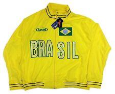 Brasil National Soccer National  Team Jacket Official Licensed Rinat