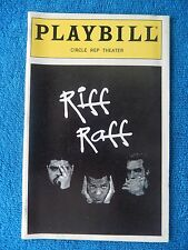 Riff Raff - Circle Rep Theatre Playbill - October 1995 - Laurence Fishbourne