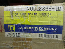 Square D Nqo12326-1M, Q1B2100 Main Breaker, 12 Circuit Panelboard Interior- New