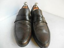 Men's Gucci 'Anderson' Brown Leather Sip On Loafers Size G 8 / US 9 $530