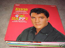 Elvis Presley; Girl Happy on LP Stereo LSP 3338