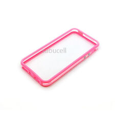 New Rubber Soft TPU Color Skin Gel Ultra Thin Bumper Case Cover For iPhone 5, 5S