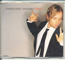 DARREN HAYES Insatiable Remixes OZ 6trk CD Single