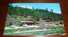 Vintage Postcard Big Thunder Gold Mine Keystone So Dakota 1960s