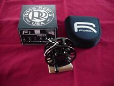 Ross Fly Reel Model F1 Size 1.5 in Black