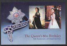 Australia Sc# 2506a Queen Elizabeth Ii 80th Birthday 2006, Vf Mnh Sheet of 2