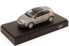 VW GOLF VII 2012 5 DOORS LIMESTONE GREY METAL HERPA 5G4099300EV1 VOLKSWAGEN 1/43