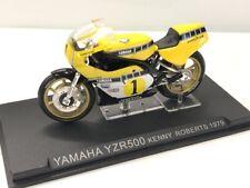 yamaha yzr500 kenny roberts 1979 1/24 n33 + fasci grandes motos de compétition