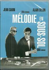 DVD - MELODIE EN SOUS SOL avec JEAN GABIN, ALAIN DELON / NEUF EMBALLE
