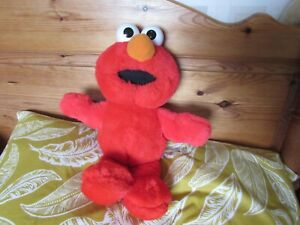 "Tyco 1997 Tickle Me Elmo Plush Laughing Doll 12"" Sitting"