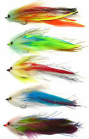 "6"" HOOK / TUBE Trout Salmon Steelhead Pike Fly Fishing Streamer Flies Saltwater"