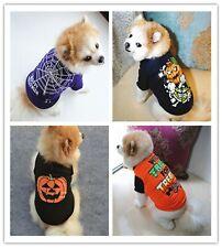 Halloween Style Pet Costume Puppy Dog T-shirt Pet Vest Cat Dog Sleeveless Shirts