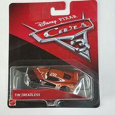Disney Pixar Cars 3 Tim Treadless # 28 Nitroade New Body Diecast Mattel 1:55