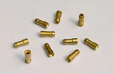 Lucas 900269 Brass Solder Motorcycle & Classic Car Bullet Terminals, Pk of 10