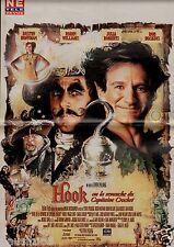 Coupure de presse Clipping 1992 Poster Hook 46 x 30 Le Capitaine Crochet