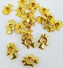 Scrapbooking Embellishments Gold Angel Eyelets Set of 20 Christmas Holiday Cards