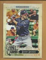 Dansby Swanson RC 2017 Topps Gypsy Queen Rookie Card # 91 Atlanta Braves