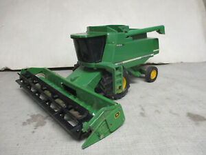 (1998) John Deere Model 9510 Toy Combine with Grain Head, 1/28 Scale