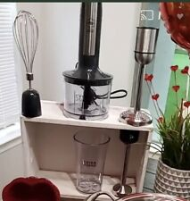 Princess House 4-1 Immersion Blender #5594 New In Box