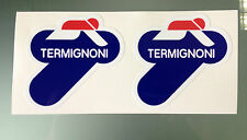 Autocollant stickers TERMIGNONI - 75mm x 75mm (paire)