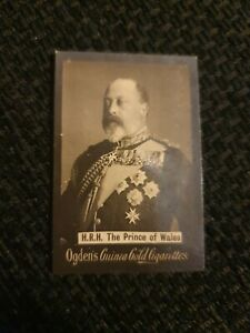 Ogden's Guinea Gold Cigarette Card - H.R.H The Prince of Wales