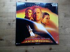 Armageddon Widescreen Laser Disc PLFEC 37681 PAL 3 Sides 2 Discs