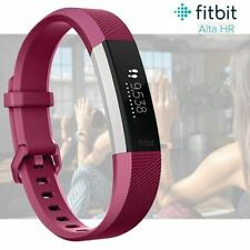Fitbit Alta HR Fitness Activity Tracker with Heart Rate - Fuchsia - Large (A)