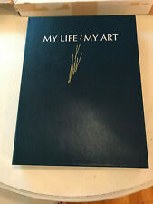 Erte book My Life My Art Signed Limited Edition - New
