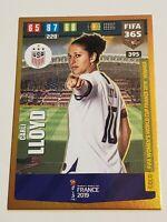 Panini fifa 365 2020 tarjetas cards 389-Abby dahlkemper womens World Cup Winner