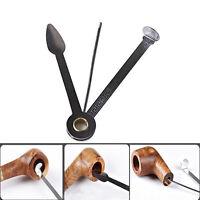 2pcs 3in1 multifunktion edelstahl rauchen pipe reinigen tabakpfeife clean tool ebay