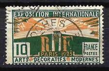 France 1924 arts décoratifs Yvert n° 210 oblitéré 1er choix (2)
