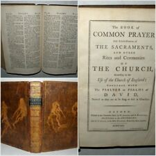 The Book of Common Prayer and Administration of the Sacraments, 1791, HB. Rare