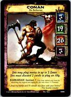 Conan Core CCG TCG Card #005 Conan The Barbarian