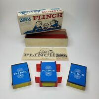 Flinch The Famous Card Game 1963 COMPLETE Parker Brothers Vintage Family Fun