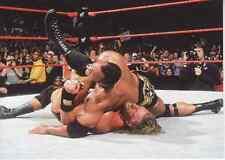 2000 Comic Images WWF WWE Rock Solid #61 Rock vs. Triple H