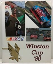 Winston Cup '90 NASCAR Hardcover Book With Slipcover + 2 Posters