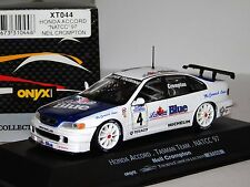 HONDA ACCORD #4 N. TEAM TASMAN NATCC 1997 ONYX XT044 1:43