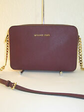 MICHAEL Michael Kors Jet Set Travel Large East West Plum Crossbody Bag $168