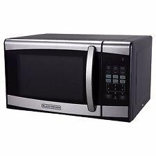Black & Decker 0.9 Cu. Ft. 900 Watt Microwave Oven Stainless Steel New Open Box