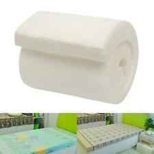 Cushion Foam Rubber Replacement Polyurethane Upholstery White Firm Seat Pad