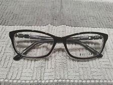 HELIUM 4331 Brown Crystal Eyeglass Frames Brown 53 15 135 New