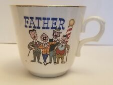 "Vintage ""Father's Quartet"" Shaving Mug"
