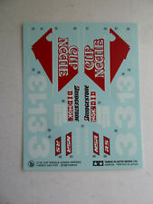 Tamiya model decals, Honda NSR250 Cup Noodle 1/12 scale 14061