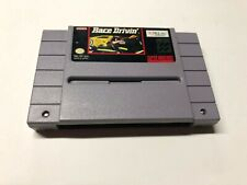 Race Drivin' (Super Nintendo Entertainment System, NES 1992) - Clean & Tested