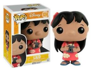 FUNKO POP LILO 124 & STITCH E AND DISNEY 9 CM CARTOON FIGURE STATUA STATUE #1