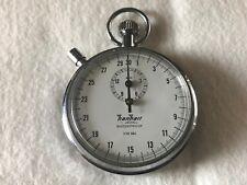 Vintage Hanhart Stopwatch 1 Jewel 1/10 Sec Made in Germany