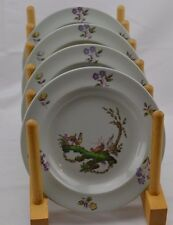 Wedgwood Mennency Gray Roosters Smooth Set of 4 Bread Butter Dessert