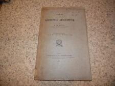 1891.Géométrie descriptive.T2.Charles Brisse (envoi)