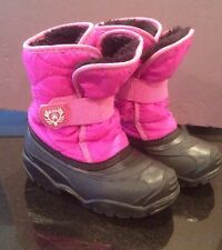 Youth 10 Pink Kamik Boots