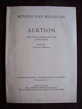 Münzen und medaillen - Auktion